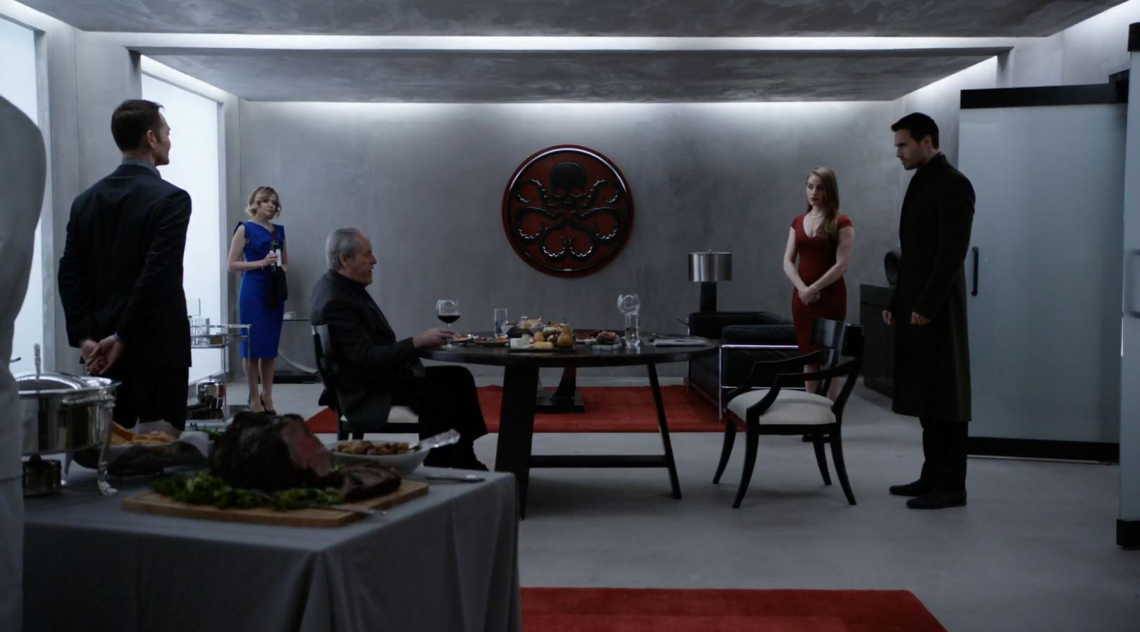 Hive confronts Malick. Agents of SHIELD S3Ep15 Spacetime review