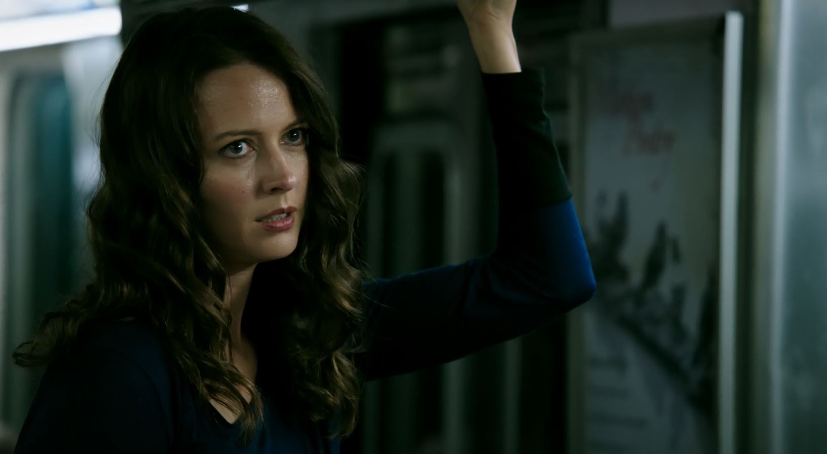 Amy Acker as Root. Person Of Interest S5Ep01 B.S.O.D. Review