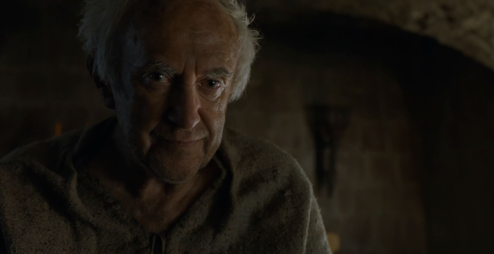 High Sparrow played by Jonathan Pryce. Game Of Thrones S6Ep4 Book of the Stranger Review