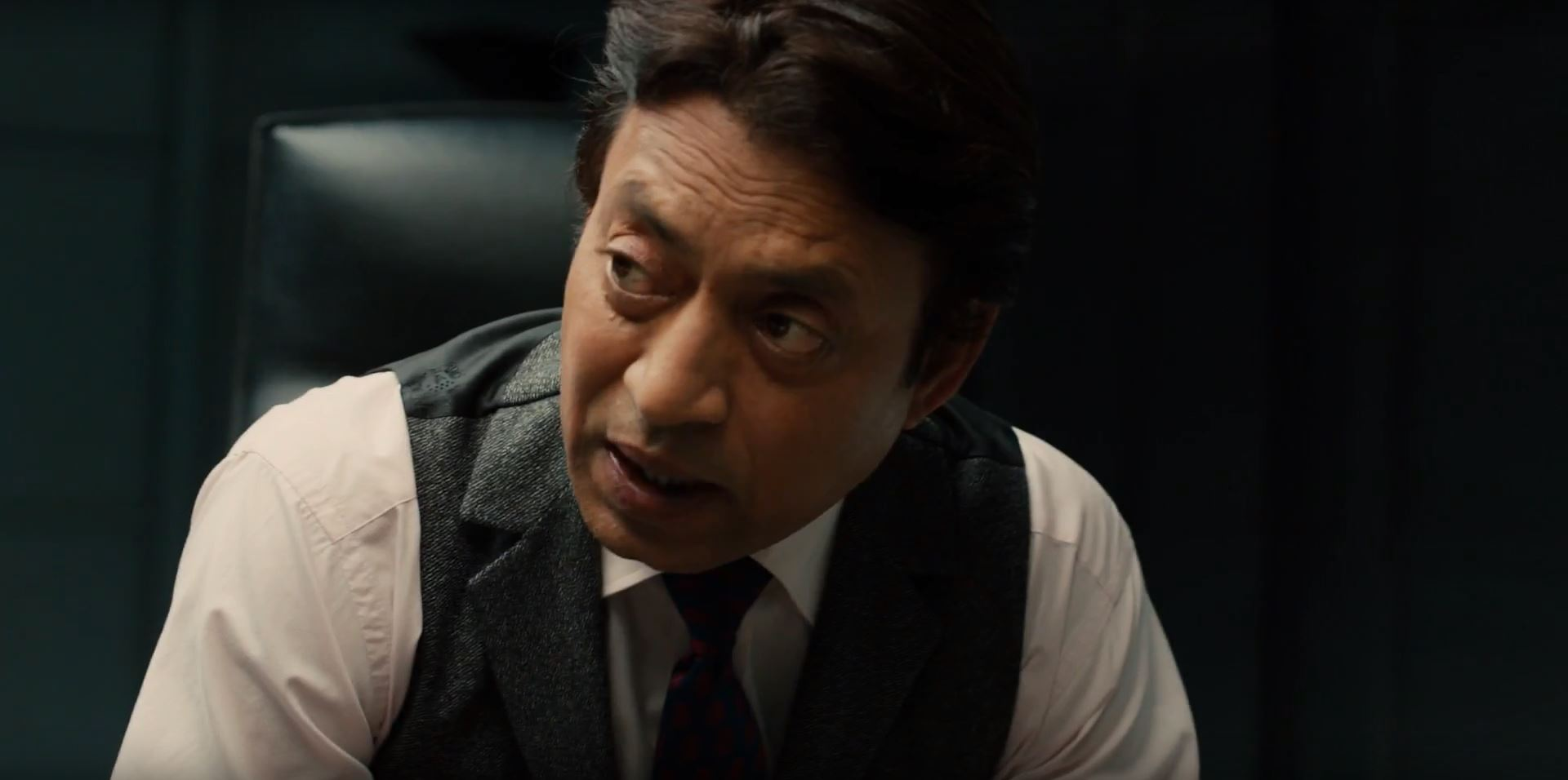 Irrfan Khan as The Provost. Inferno Teaser
