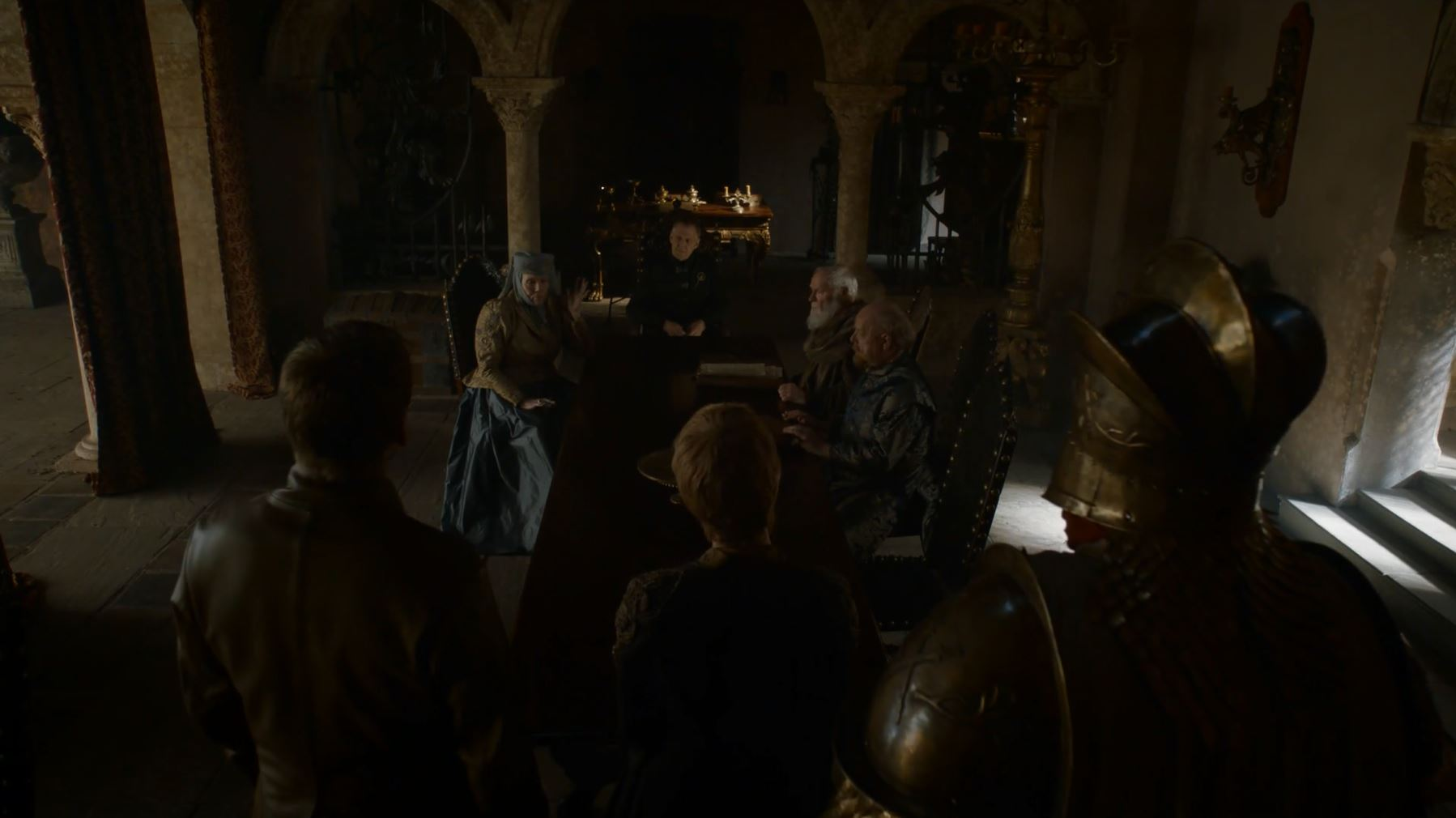 Jaime and Cersei. Game Of Thrones S6Ep3 Oathbreaker Review