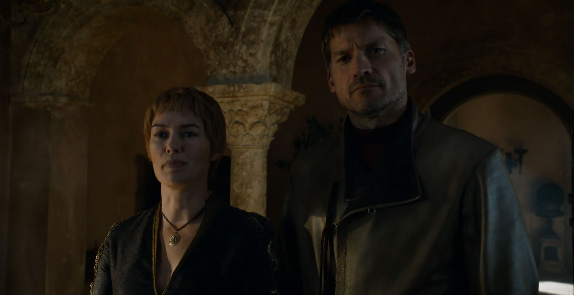 Jaime and Queen Cersei. Game Of Thrones S6Ep4 Book of the Stranger Review