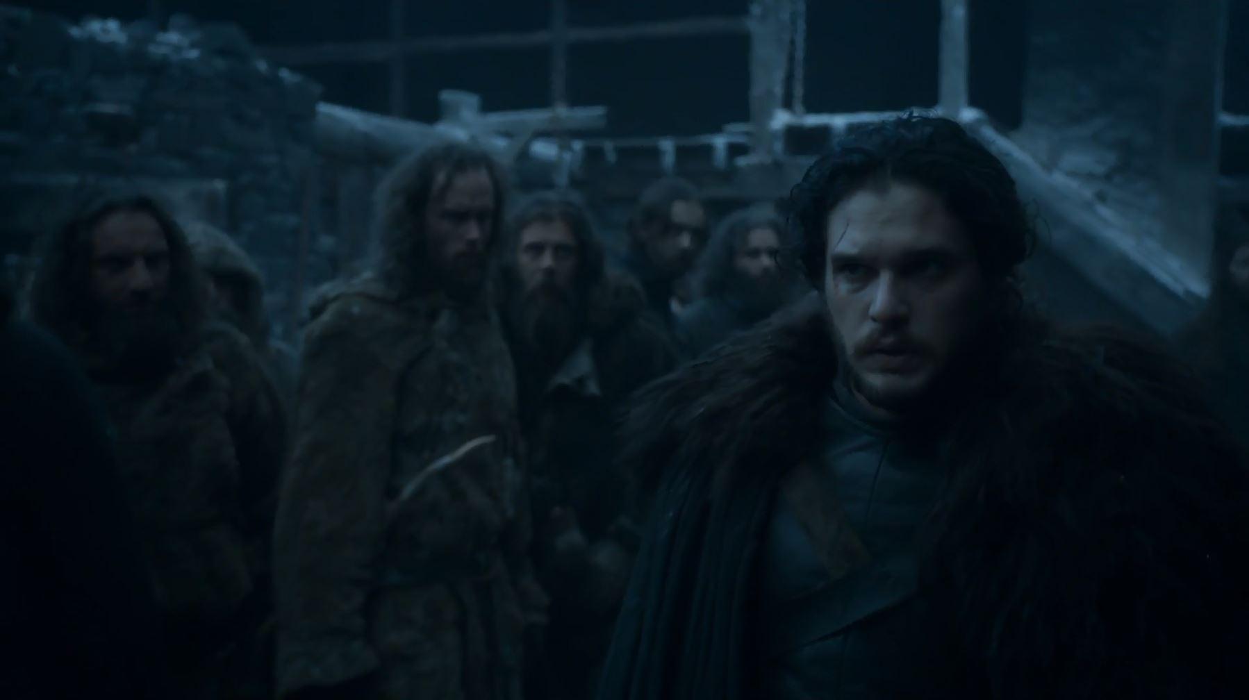 Jon Snow alive. Game Of Thrones S6Ep3 Oathbreaker Review