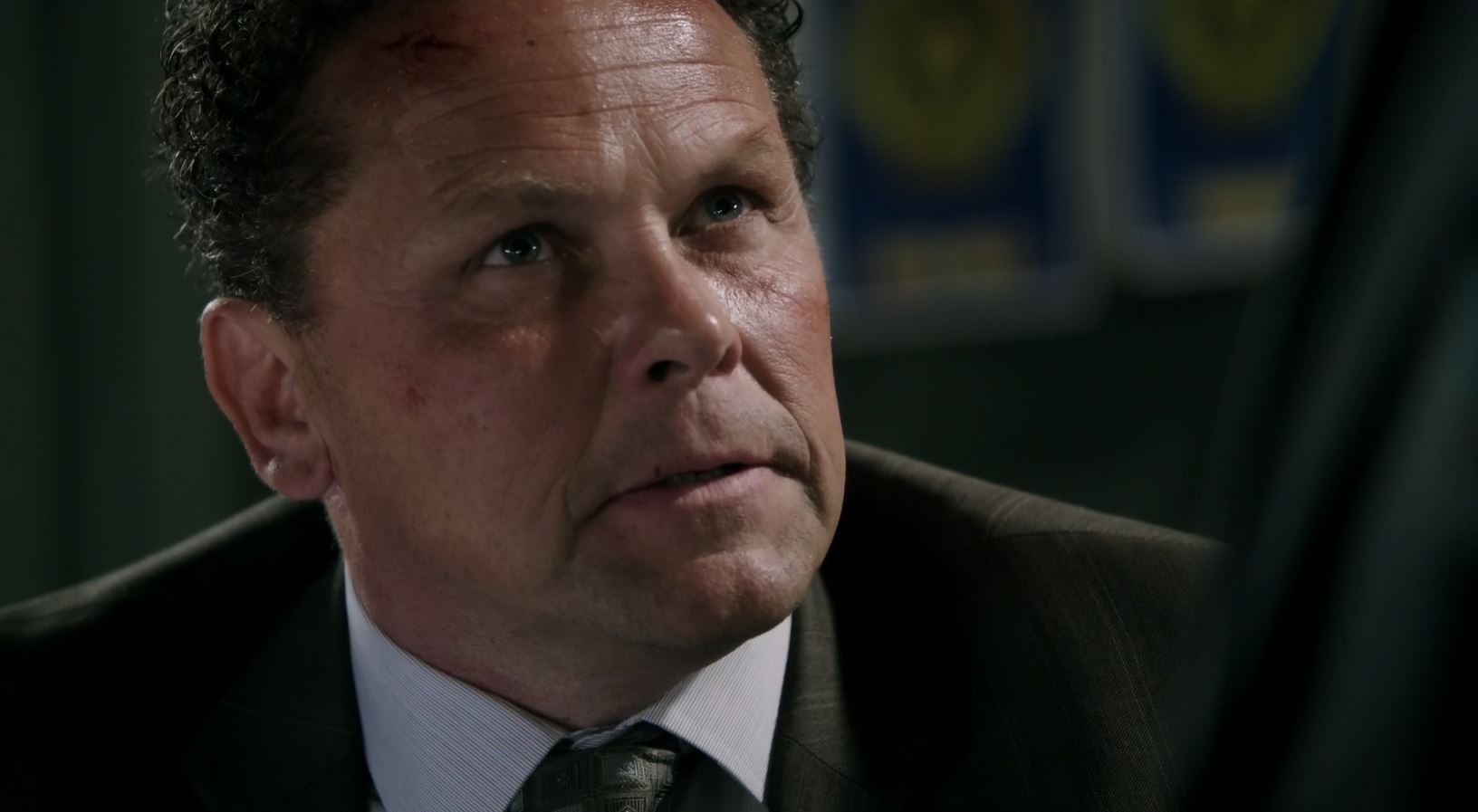 Kevin Chapman as Detective Lionel Fusco. Person Of Interest S5Ep01 B.S.O.D. Review