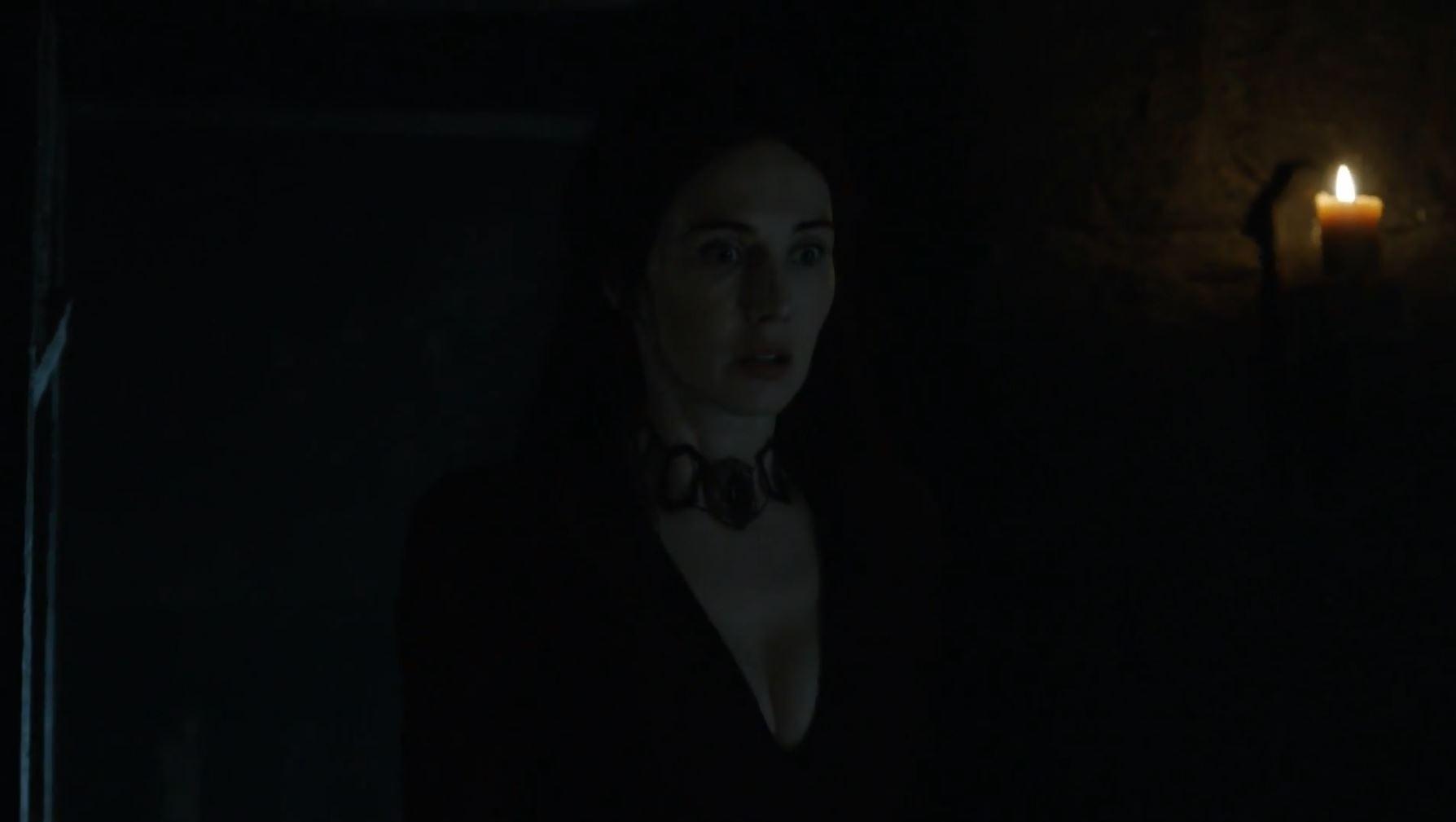 Melisandre finds Jon Snow. Game Of Thrones S6Ep3 Oathbreaker Review