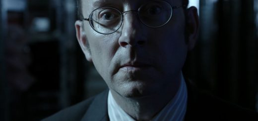 Michael Emerson as Harold Finch. Person Of Interest S5Ep01 B.S.O.D. Review