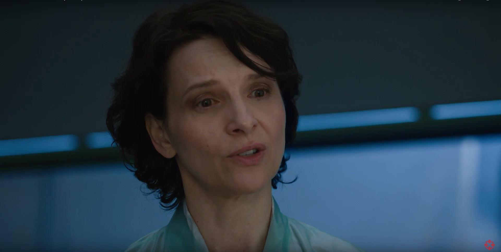 Juliette Binoche as Dr. Ouélet - Ghost In The Shell
