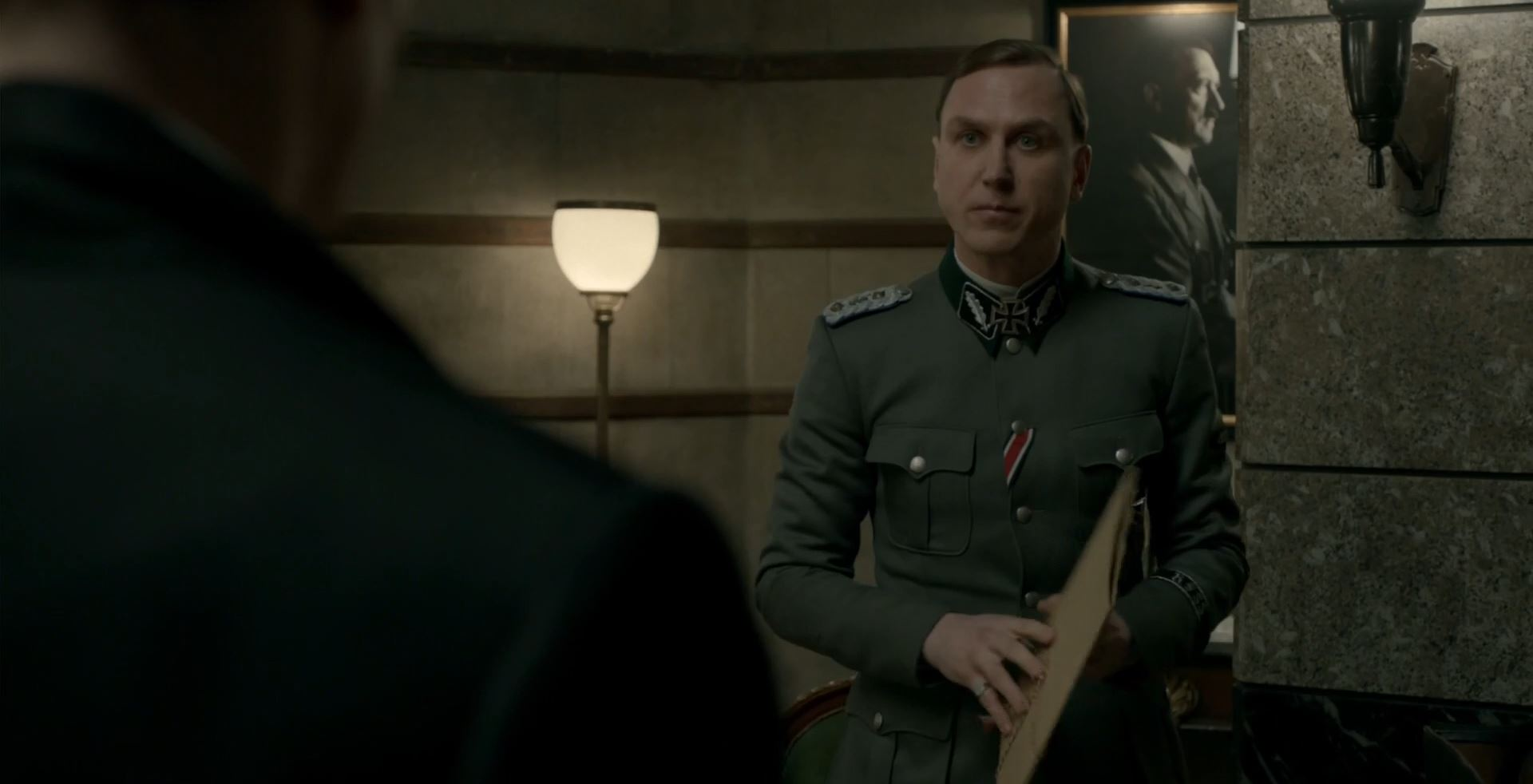 Lars Eidinger as Dr Oskar Huth - SS-GB