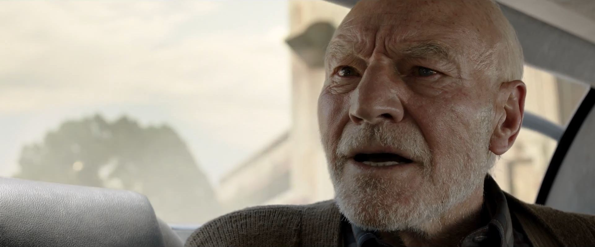 Patrick Stewart as Professor X in Logan - Super Bowl Trailers