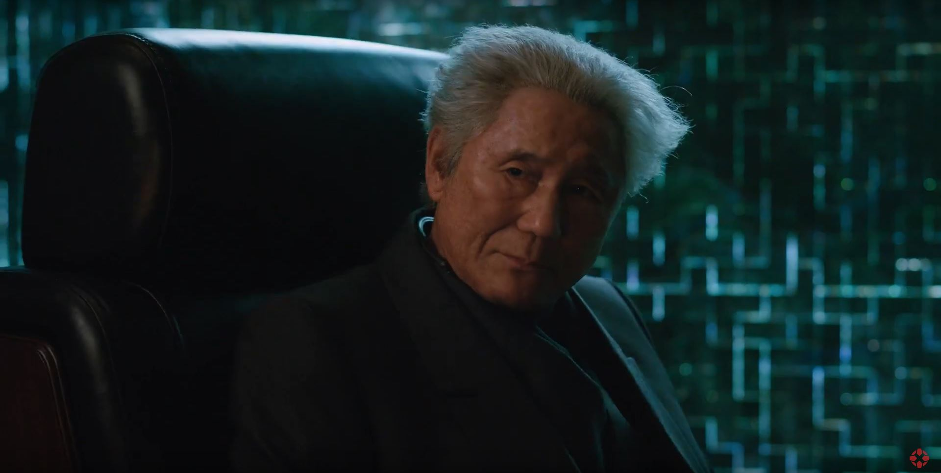 Takeshi Kitano in Ghost In The Shell