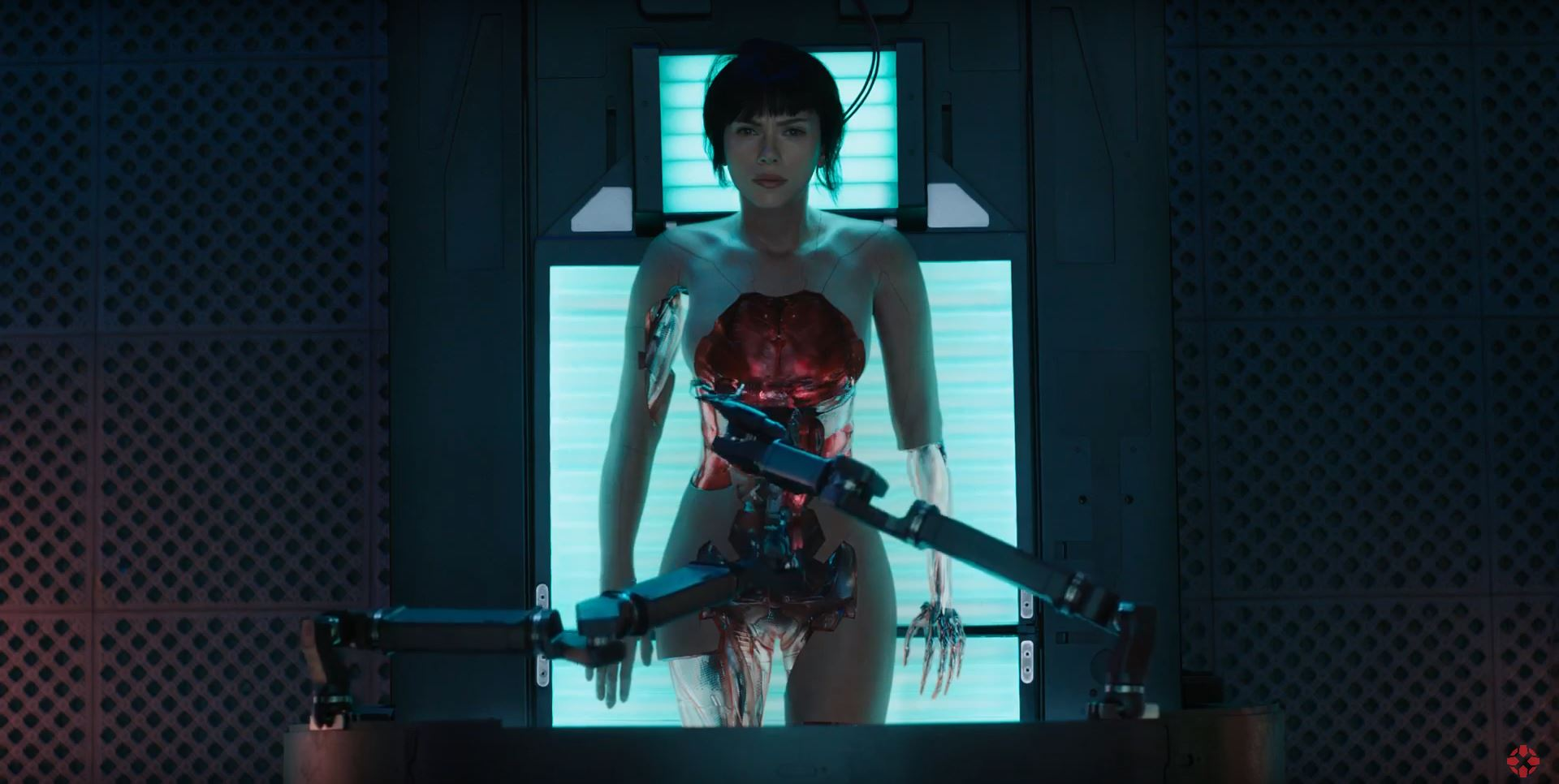 The Major being assembled - Ghost In The Shell