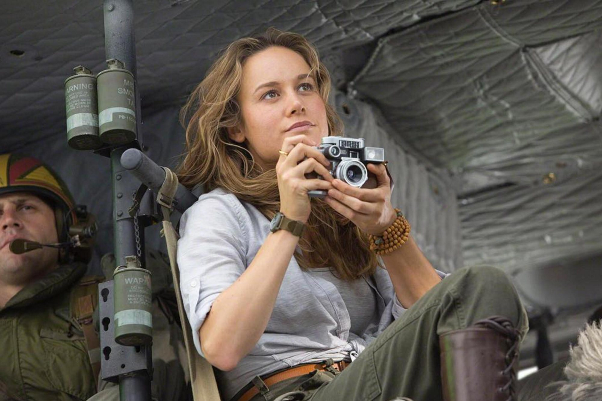 Brie Larson as Mason Weaver in Kong Skull Island