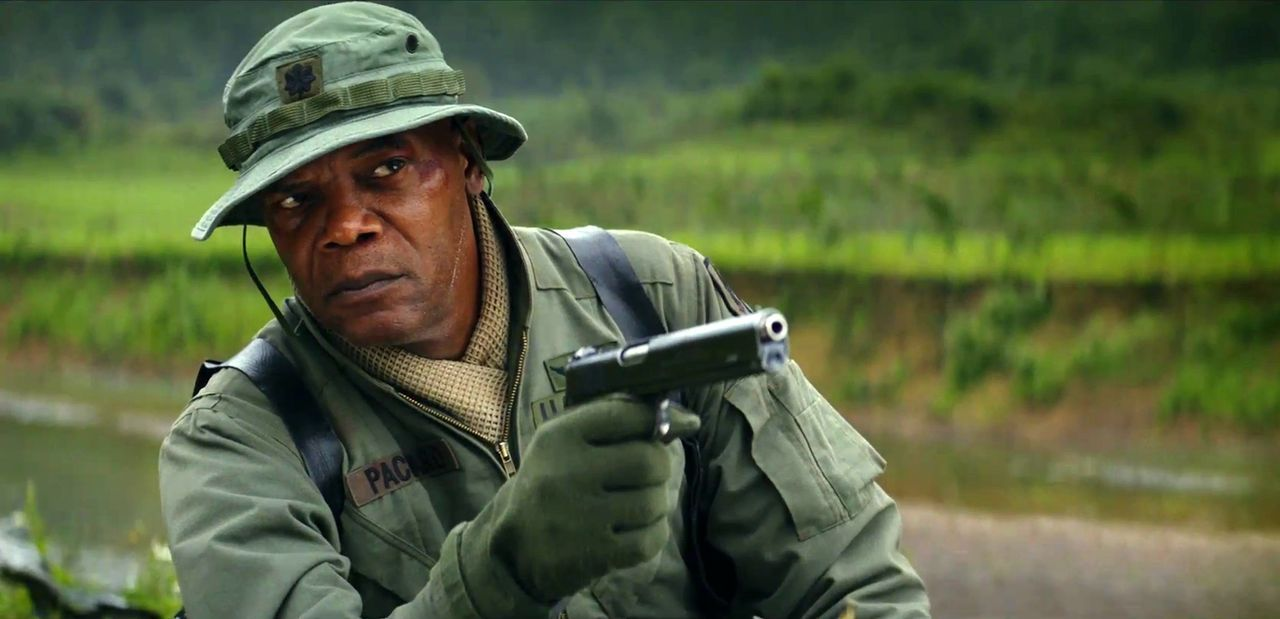Samuel L. Jackson as Packard in Kong Skull Island