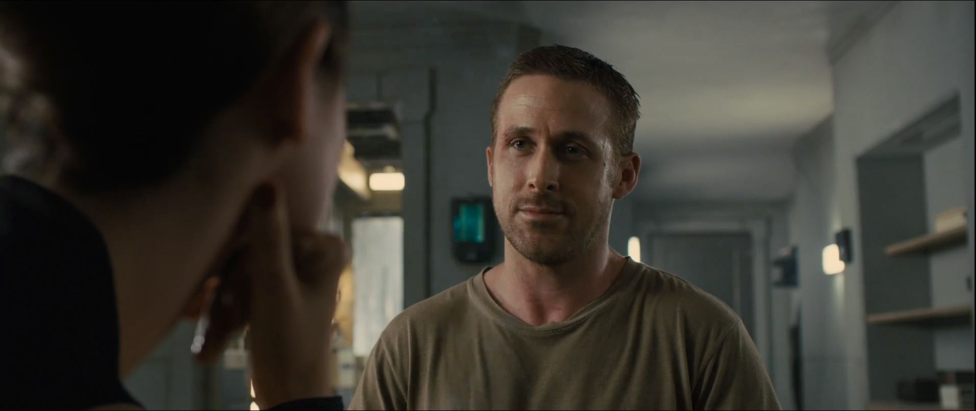 Ryan Gosling as officer K in Blade Runner 2049