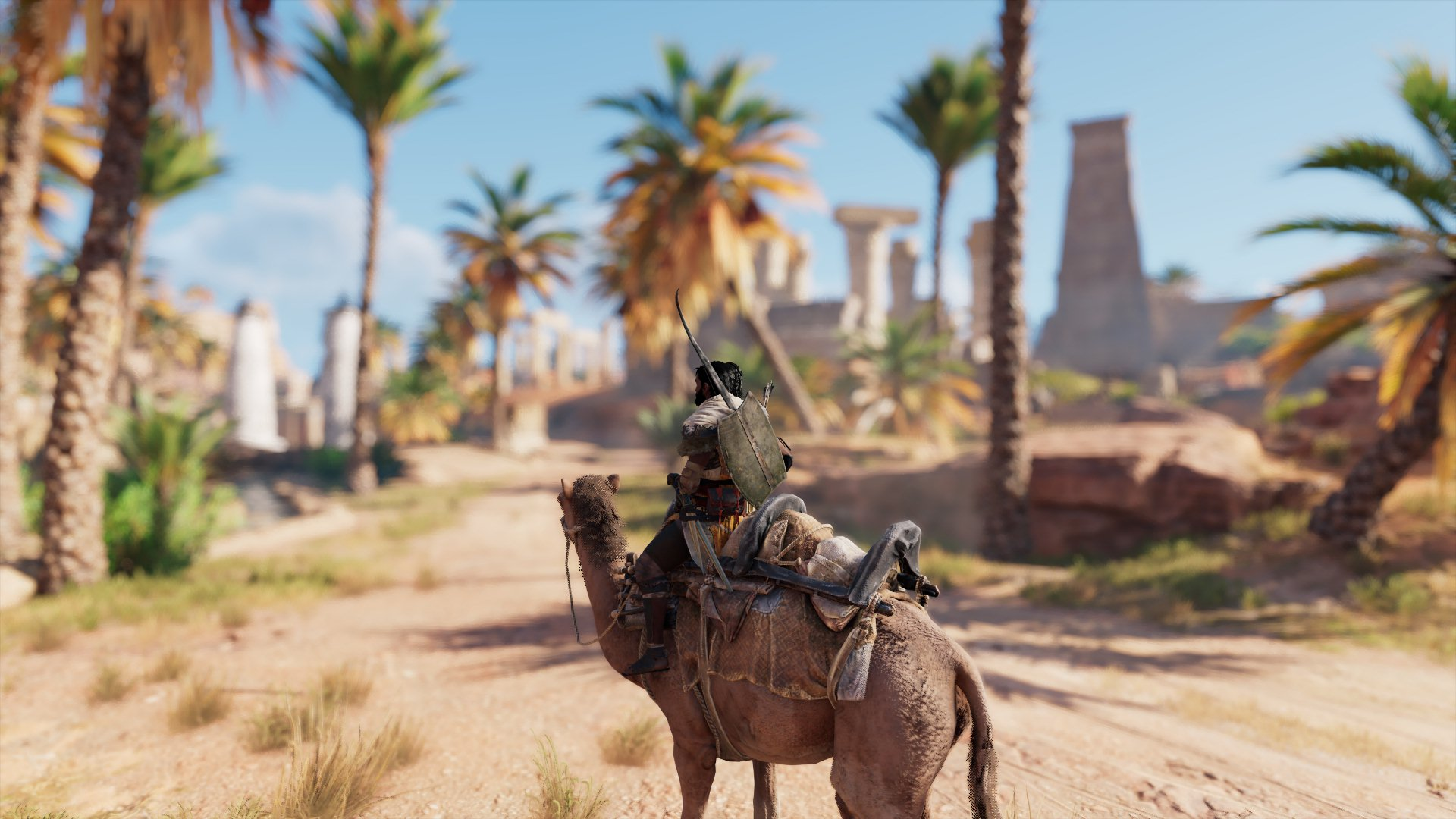 Assassin's Creed Origins - Get that camera to focus