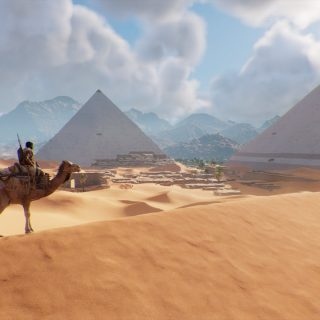 Assassin's Creed Origins - Pyramids of Giza