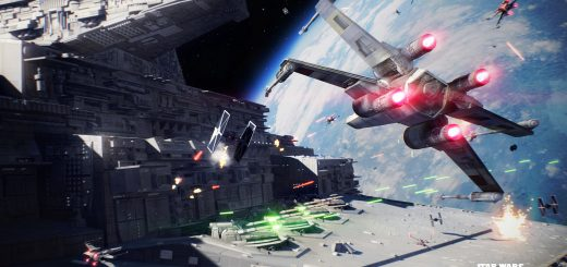 Star Wars Battlefront 2 - X-wing and Tie fighter