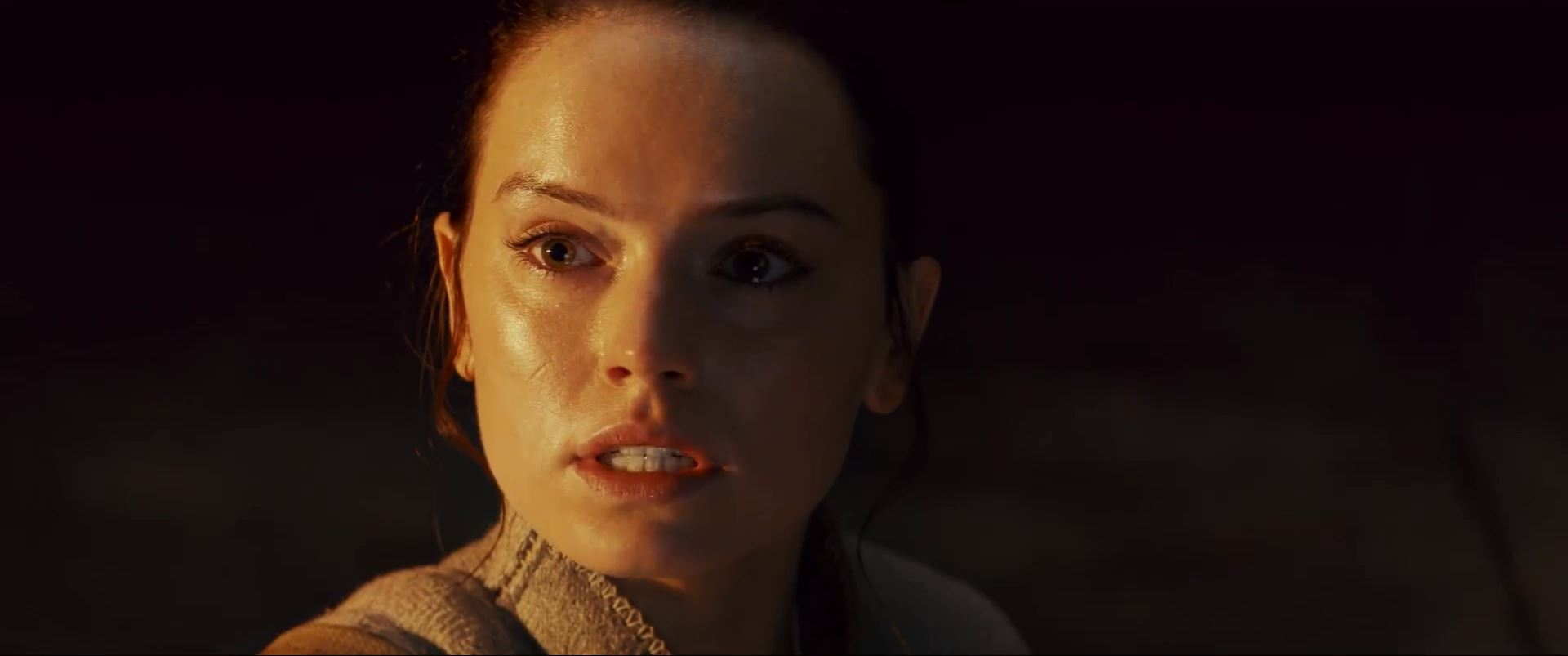 The Last Jedi Trailer - Daisy Ridley as Rey