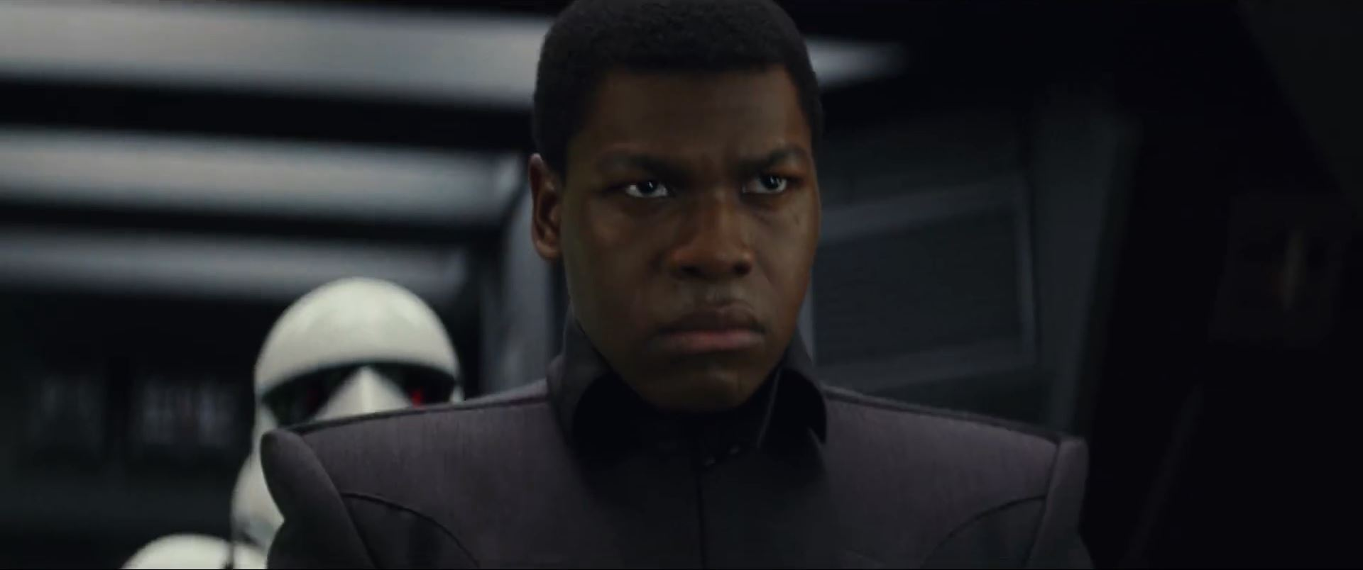 The Last Jedi Trailer - John Boyega as Finn