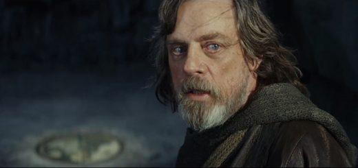 The Last Jedi Trailer - Mark Hamill as Jedi Master Luke Skywalker