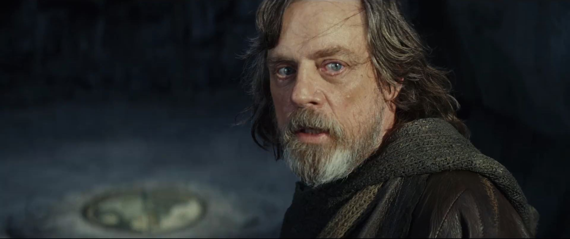 The Last Jedi Trailer - Mark Hamill as Jedi Master Luke Skywalker
