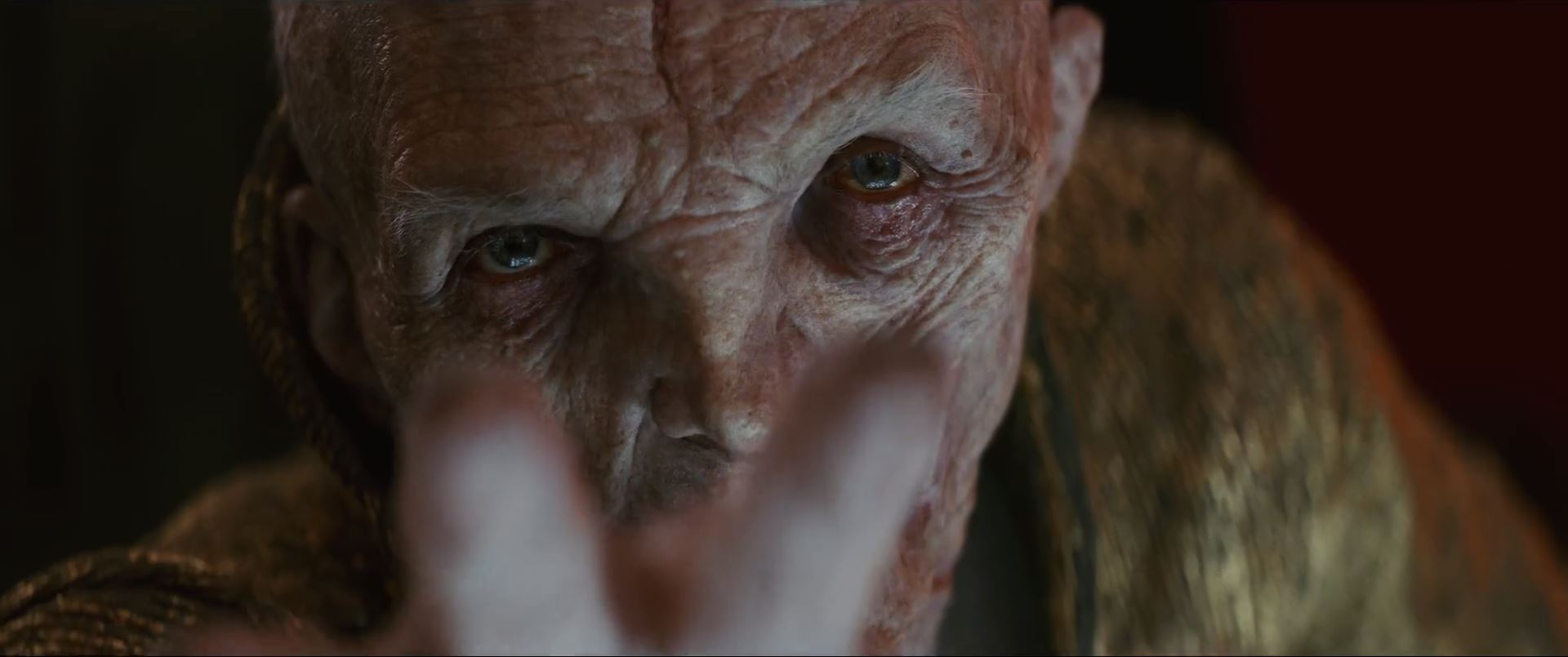 The Last Jedi Trailer - Supreme Leader Snoke