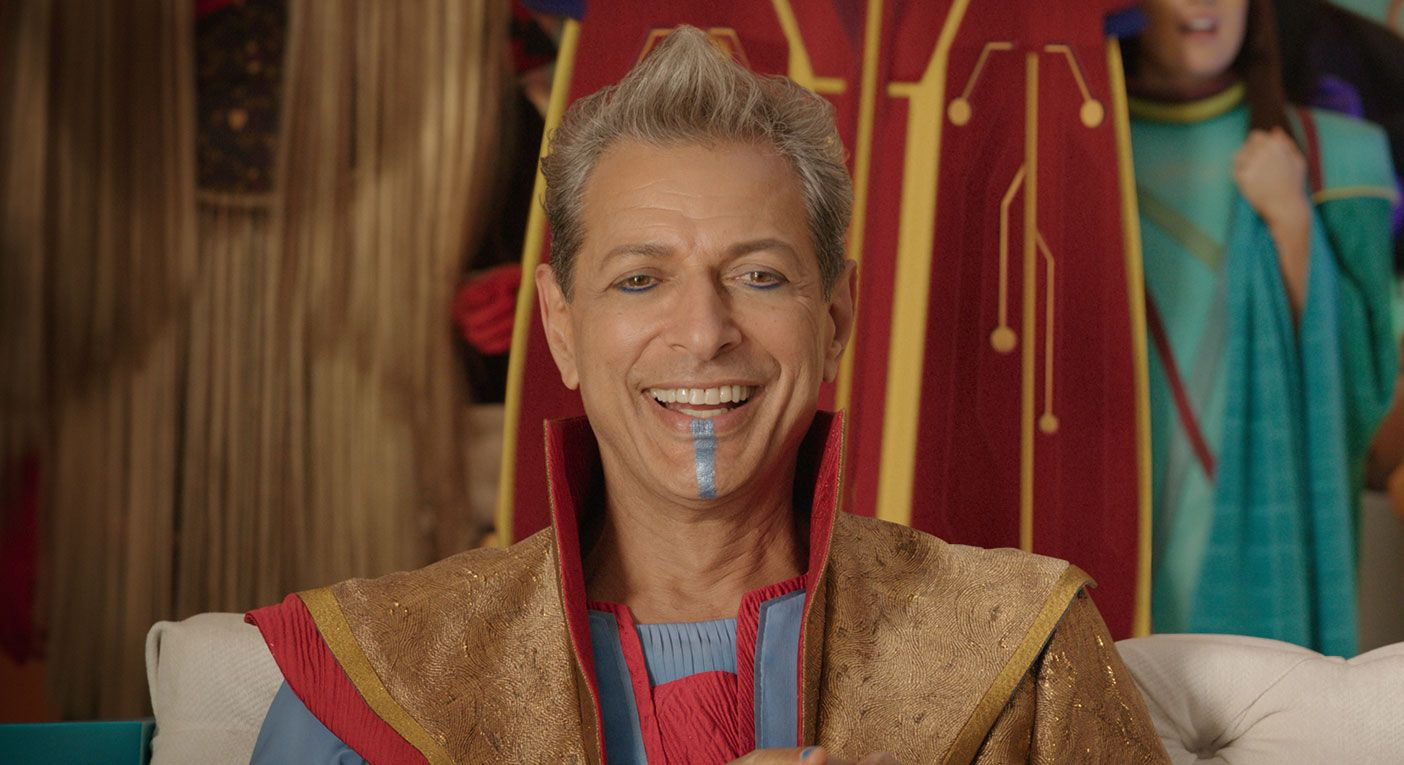 Thor Ragnarok - Jeff Goldblum as Grandmaster