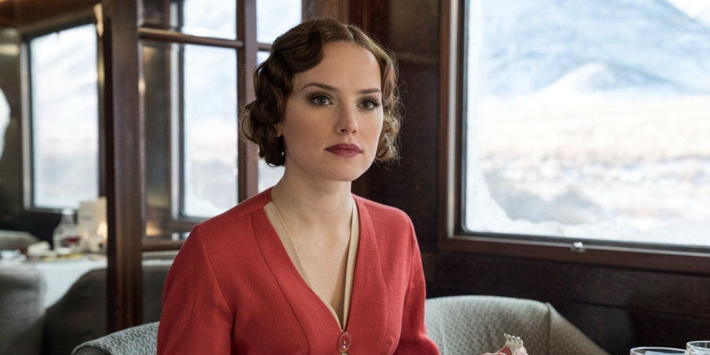 Daisy Ridley Murder on the Orient Express