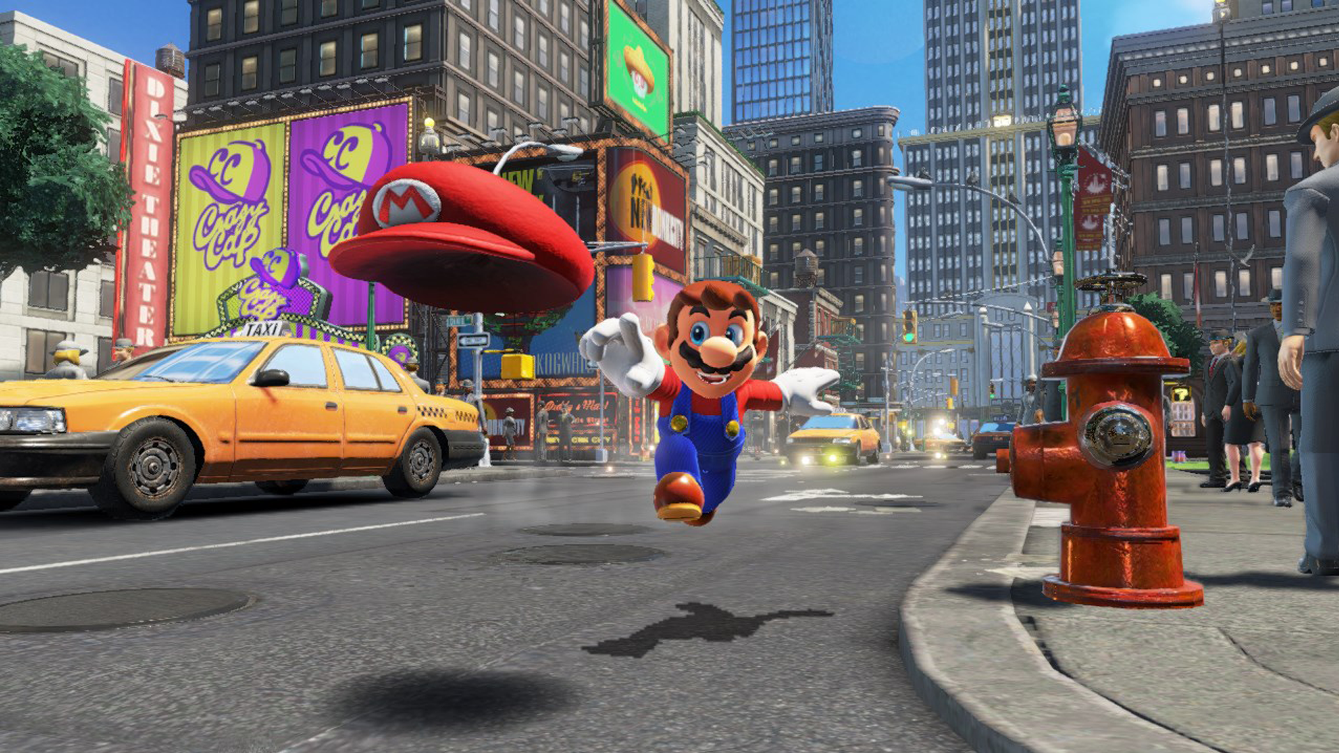 Super Mario Odyssey - Mario and Cappy