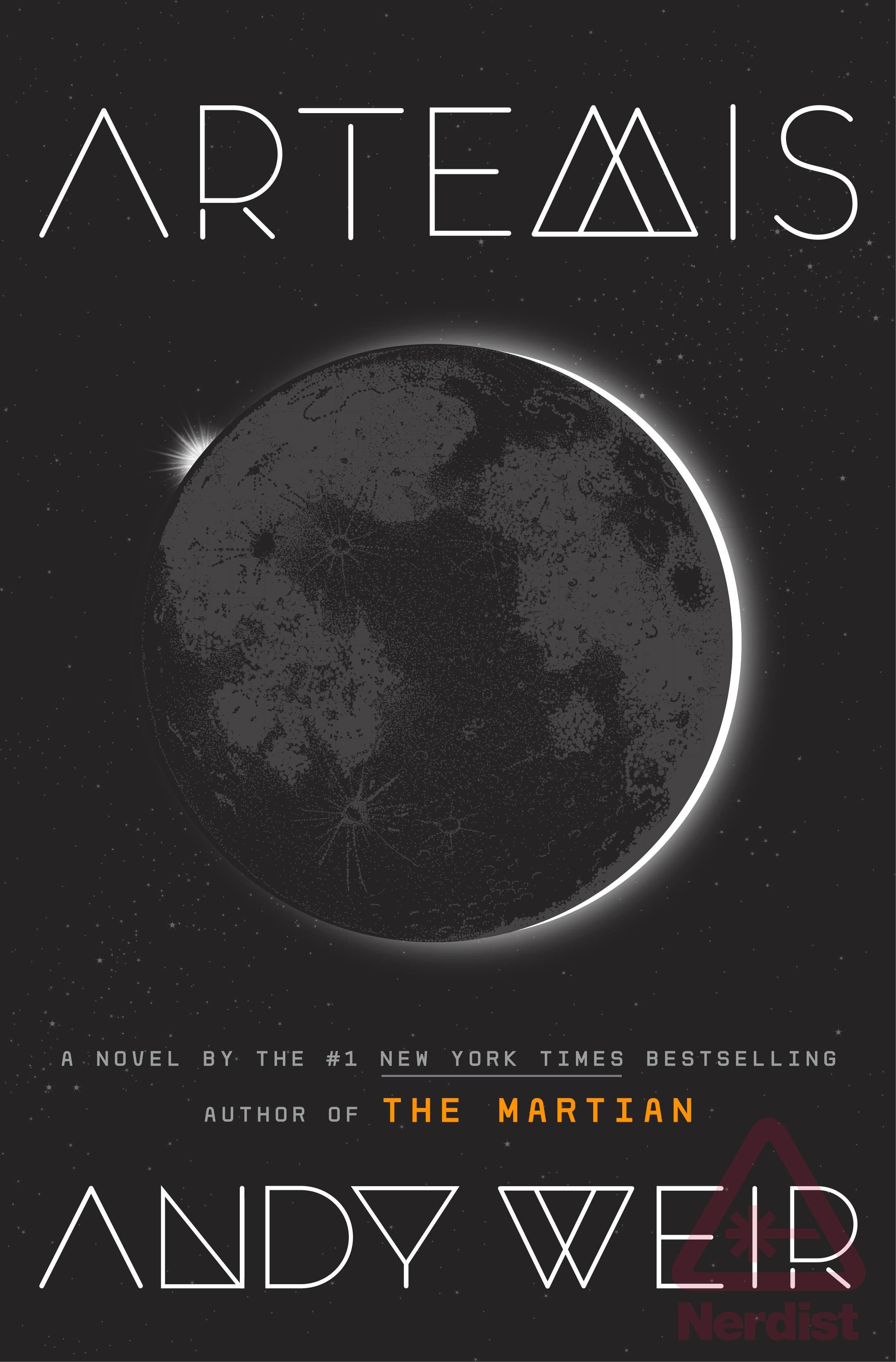 Artemis by Andy Weir book cover