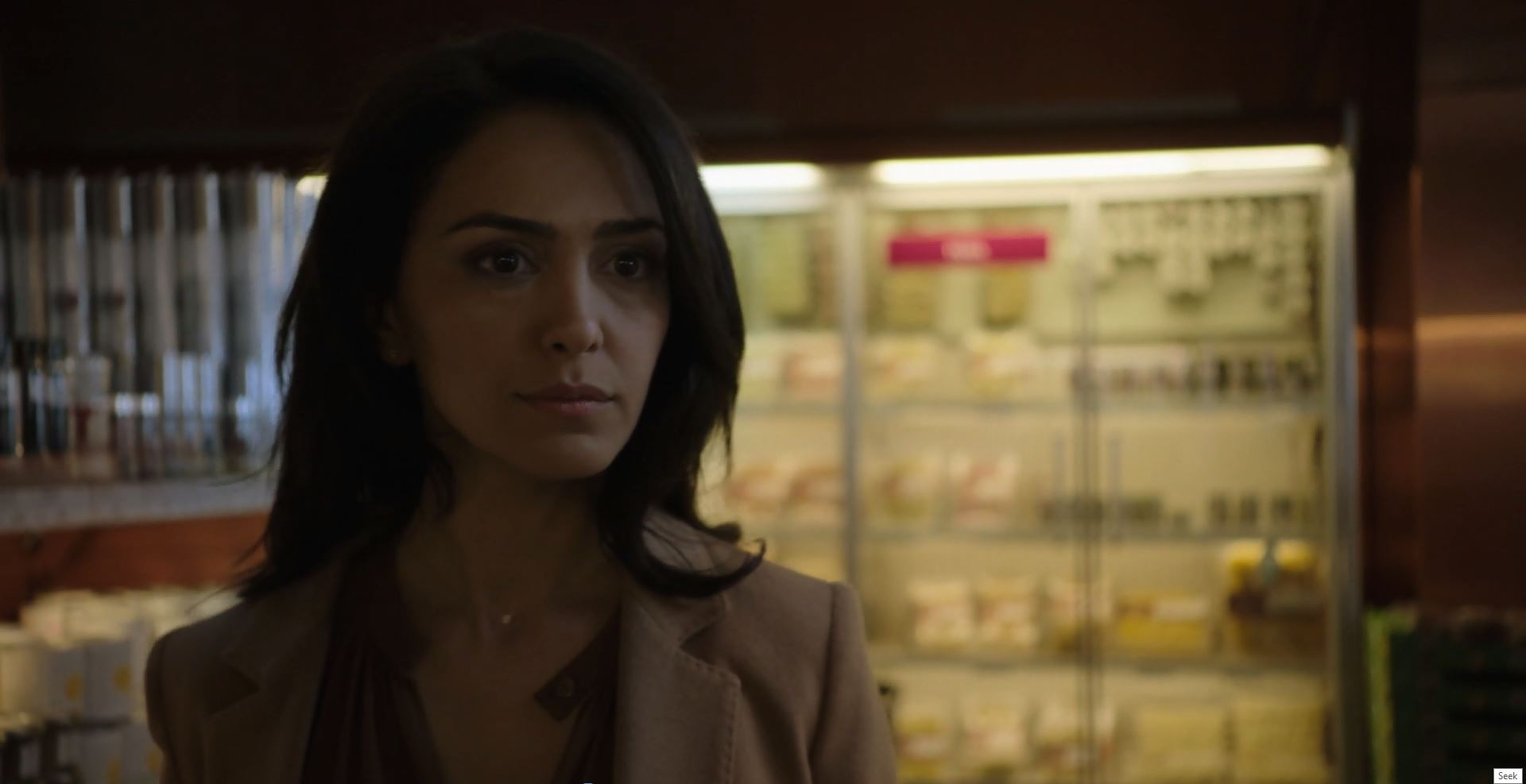 Nazanin Boniadi as Clare in Counterpart