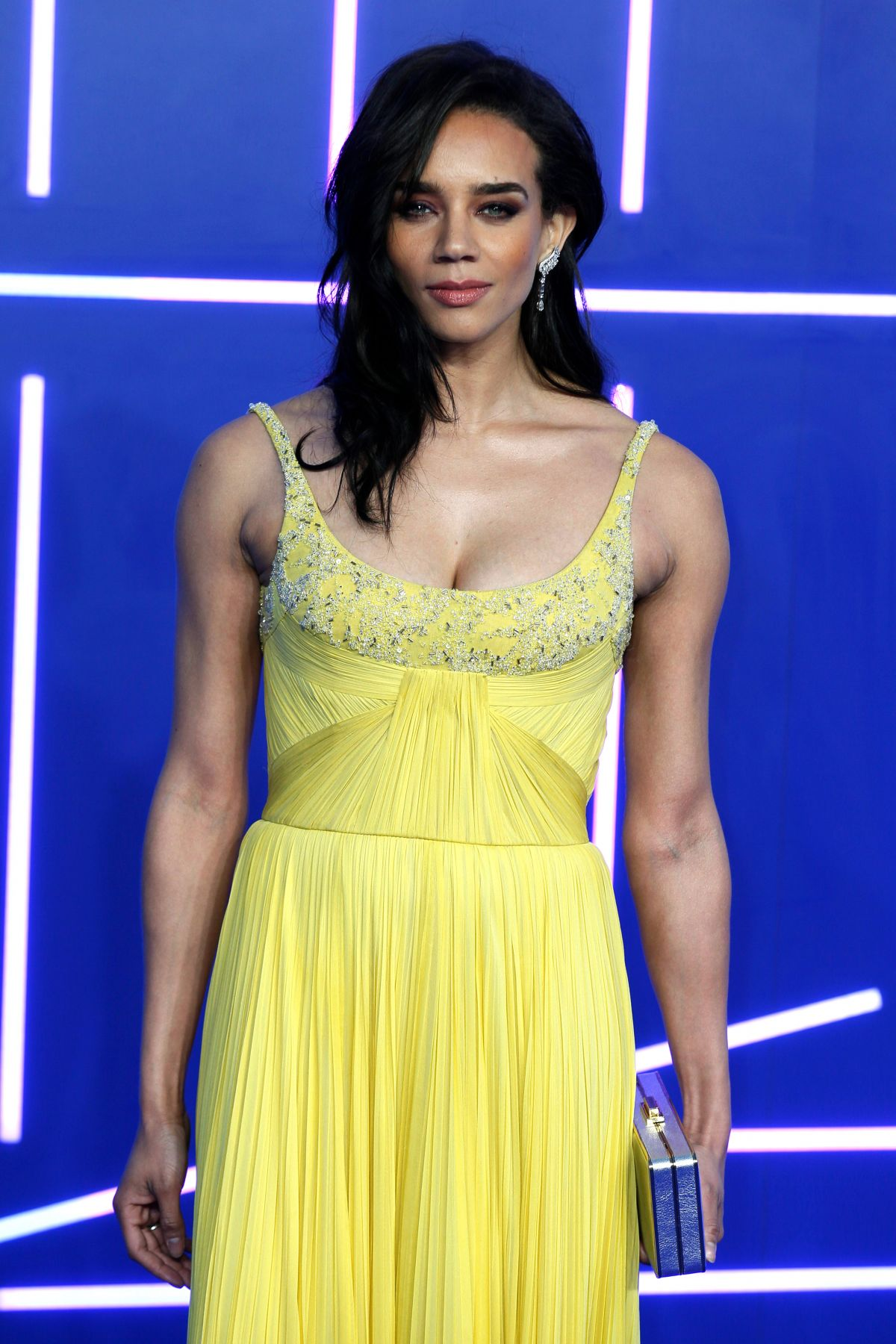 HANNAH JOHN-KAMEN at Ready Player One Premiere