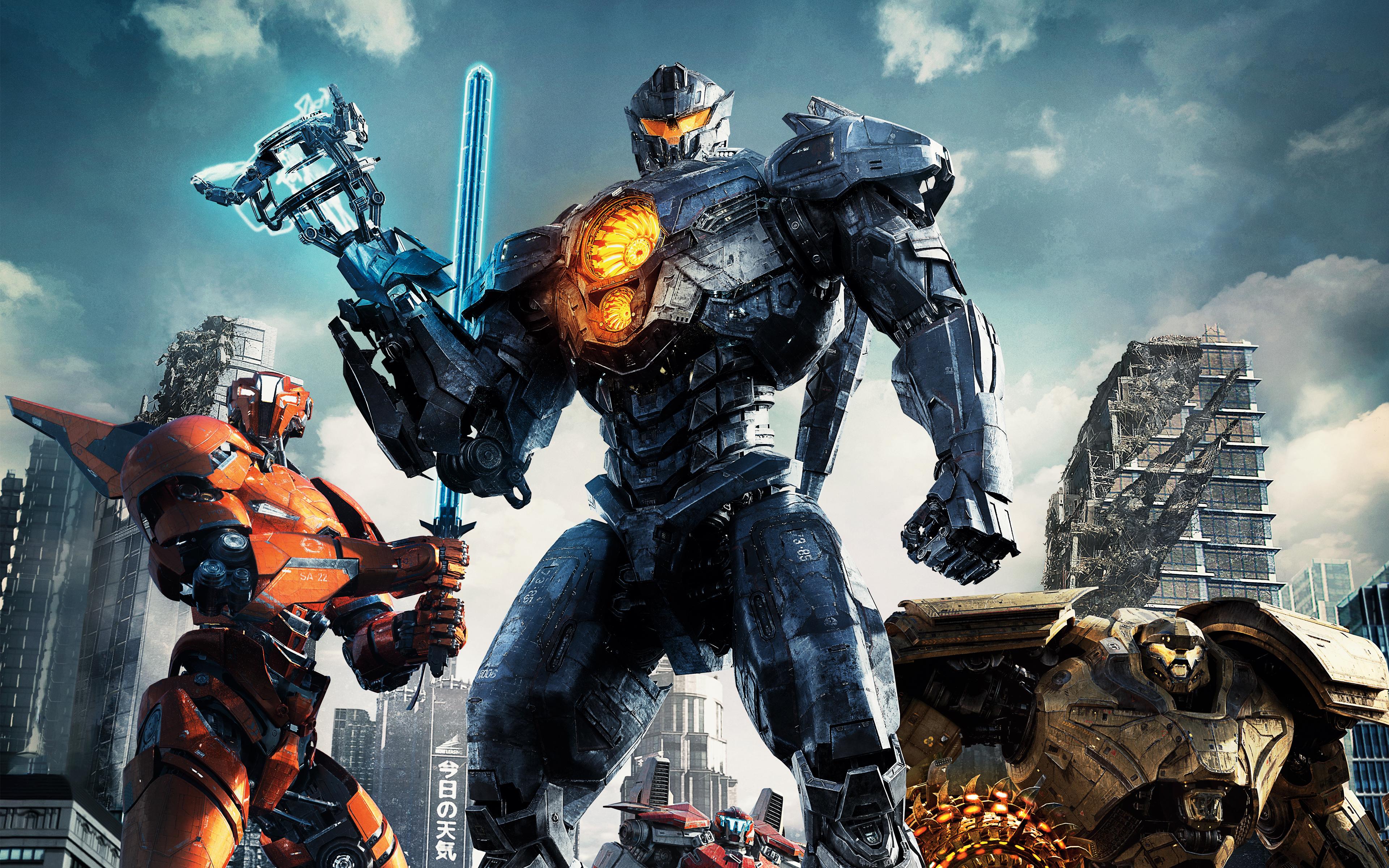 Pacific Rim Uprising - Jaegers