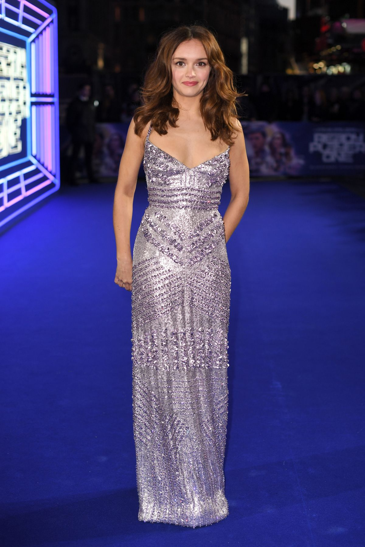 Ready Player One premiere Olivia Cooke