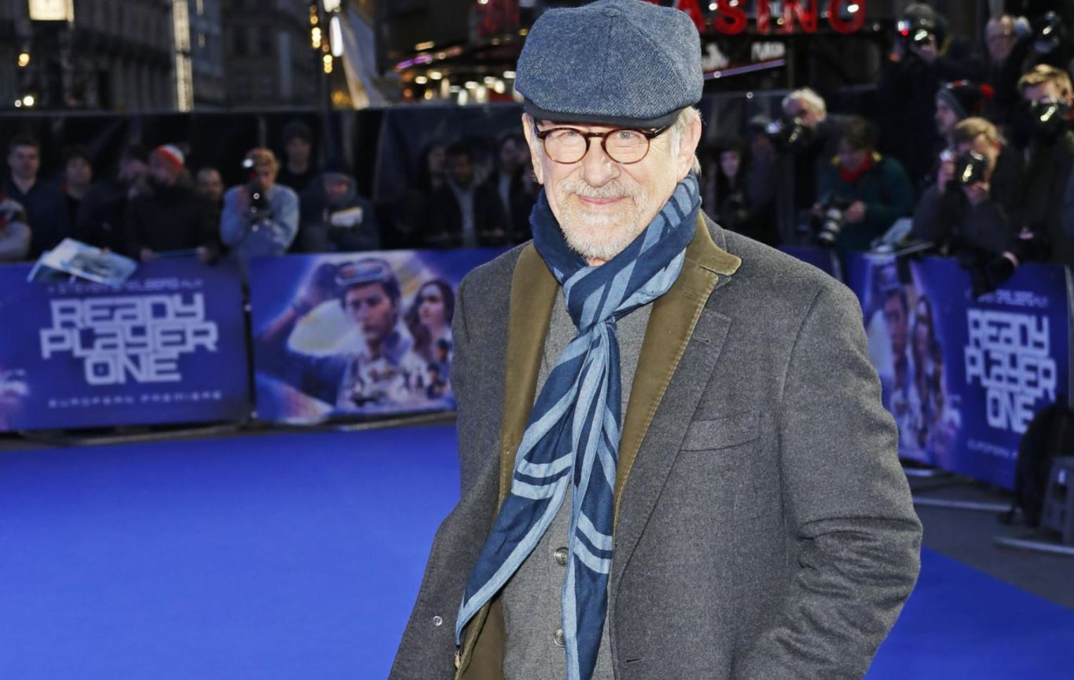 Steven Spielberg at Ready Player One Premiere