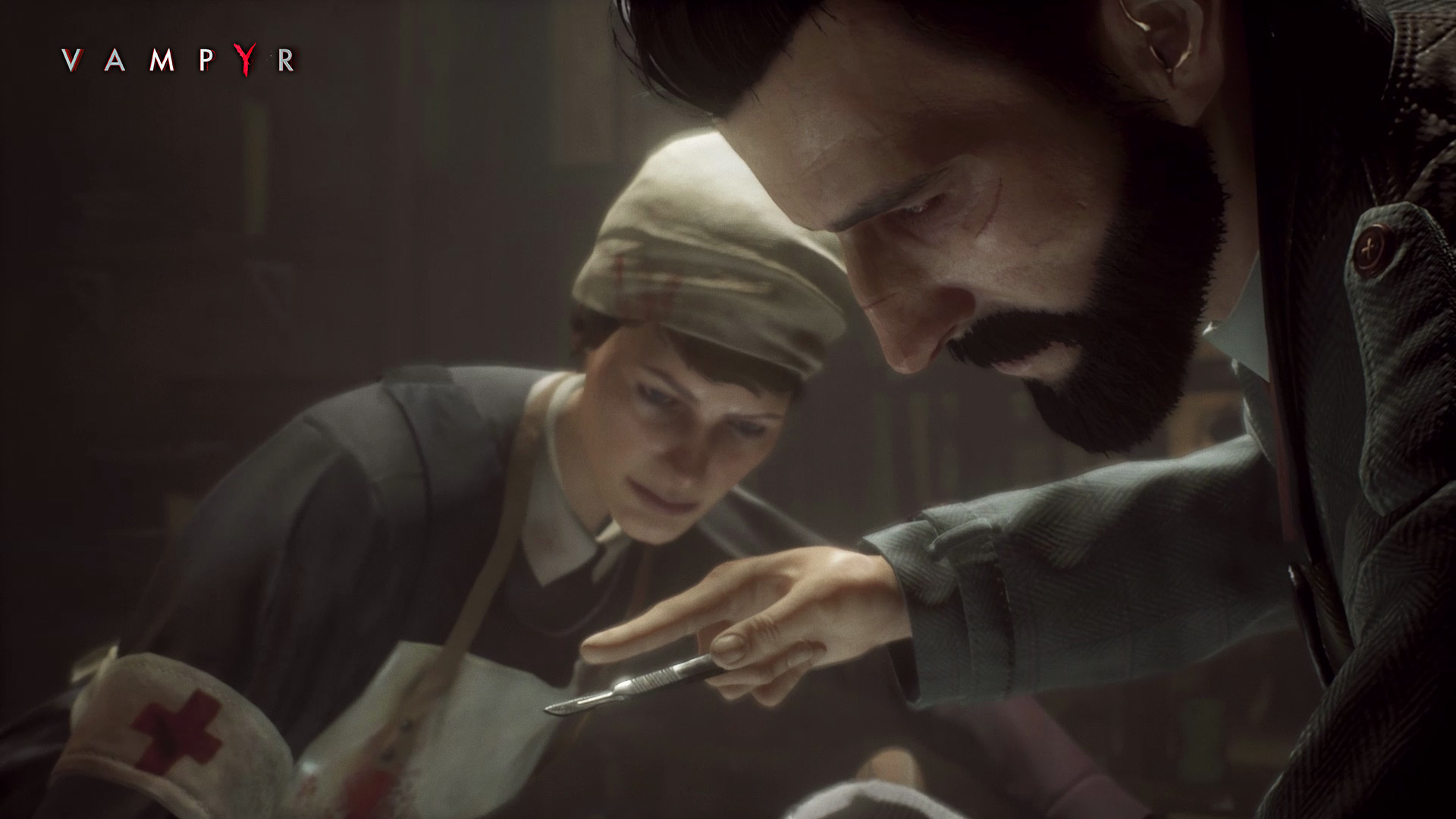 Vampyr Preview Reid and Dorothy