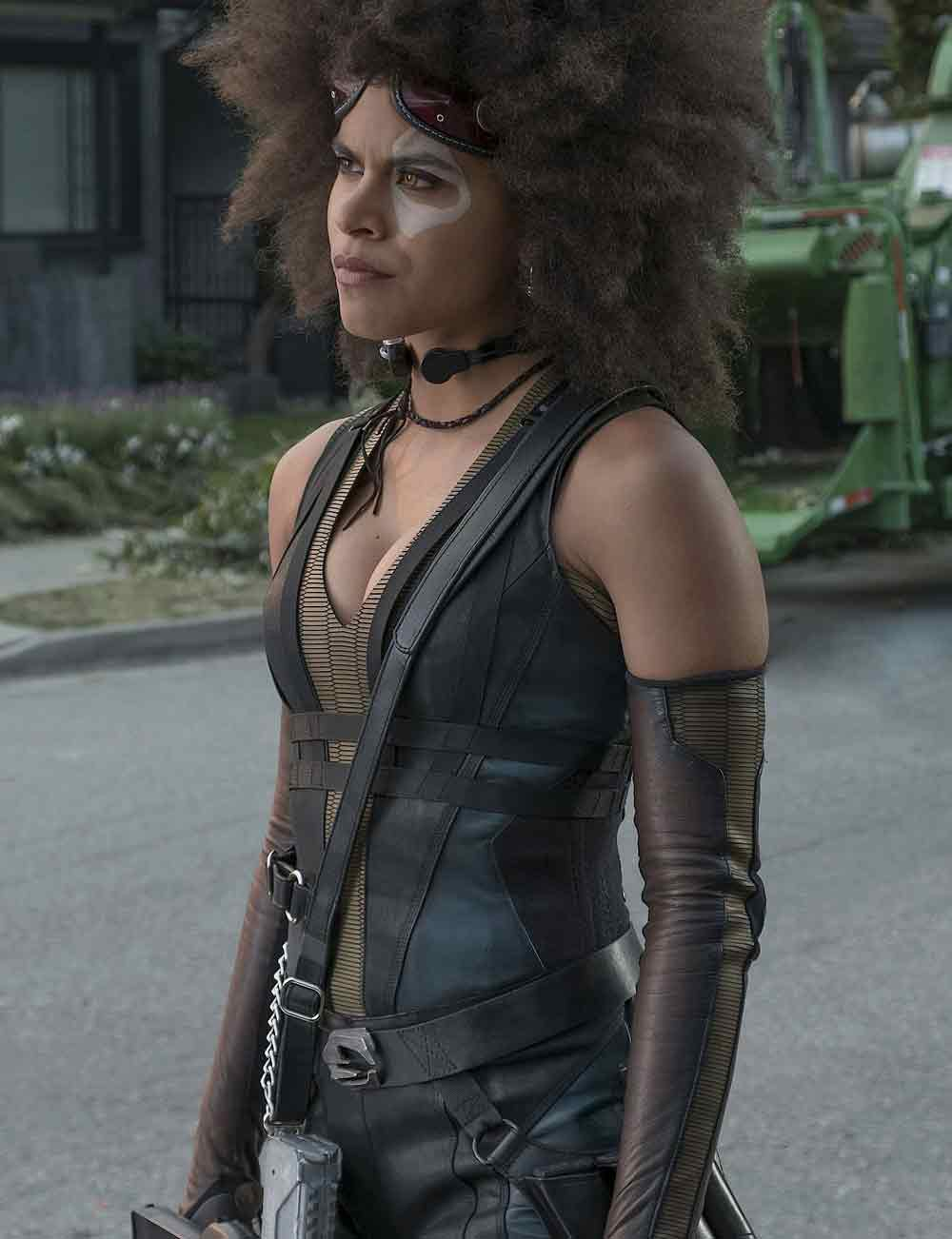 Zazie-Beetz-Deadpool 2 review