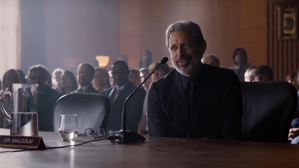 Jurassic World Fallen Kingdom Review Jeff Goldblum as Ian Malcolm