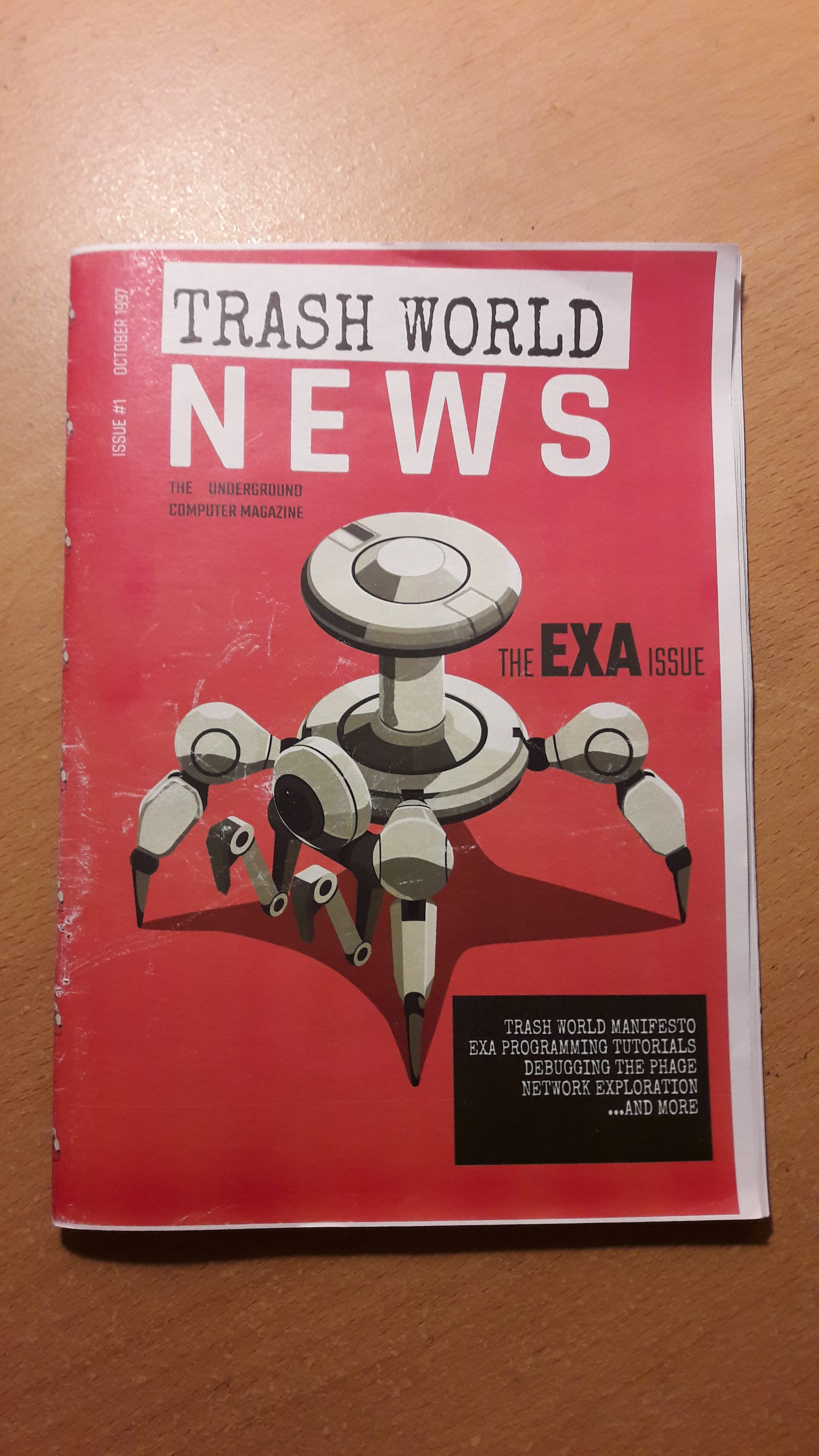 Exapunks Review - Trash World News e-zine 1