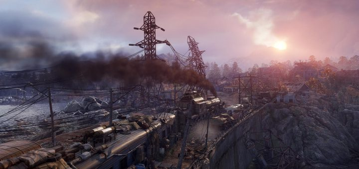Metro Exodus - stuck in the snow just outside Moscow