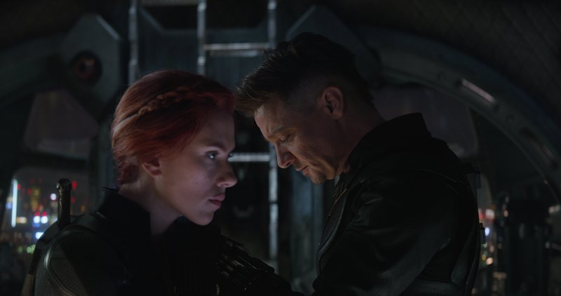 Avengers Endgame Review - Clint and Natasha