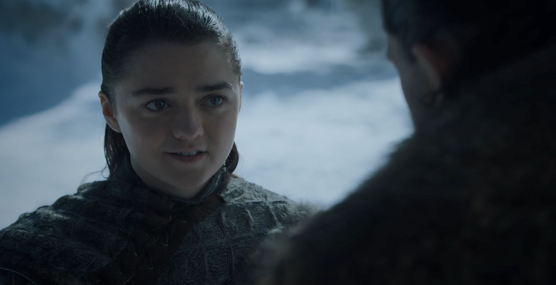 Game of Thrones S08E01 Winterfell Review - Arya meets with Jon