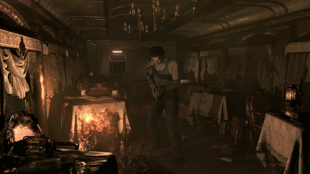 Resident Evil Zero - Billy investigates