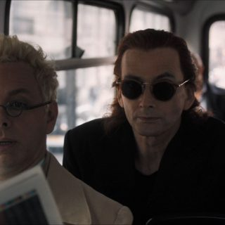 Good Omens - a demon and an angel