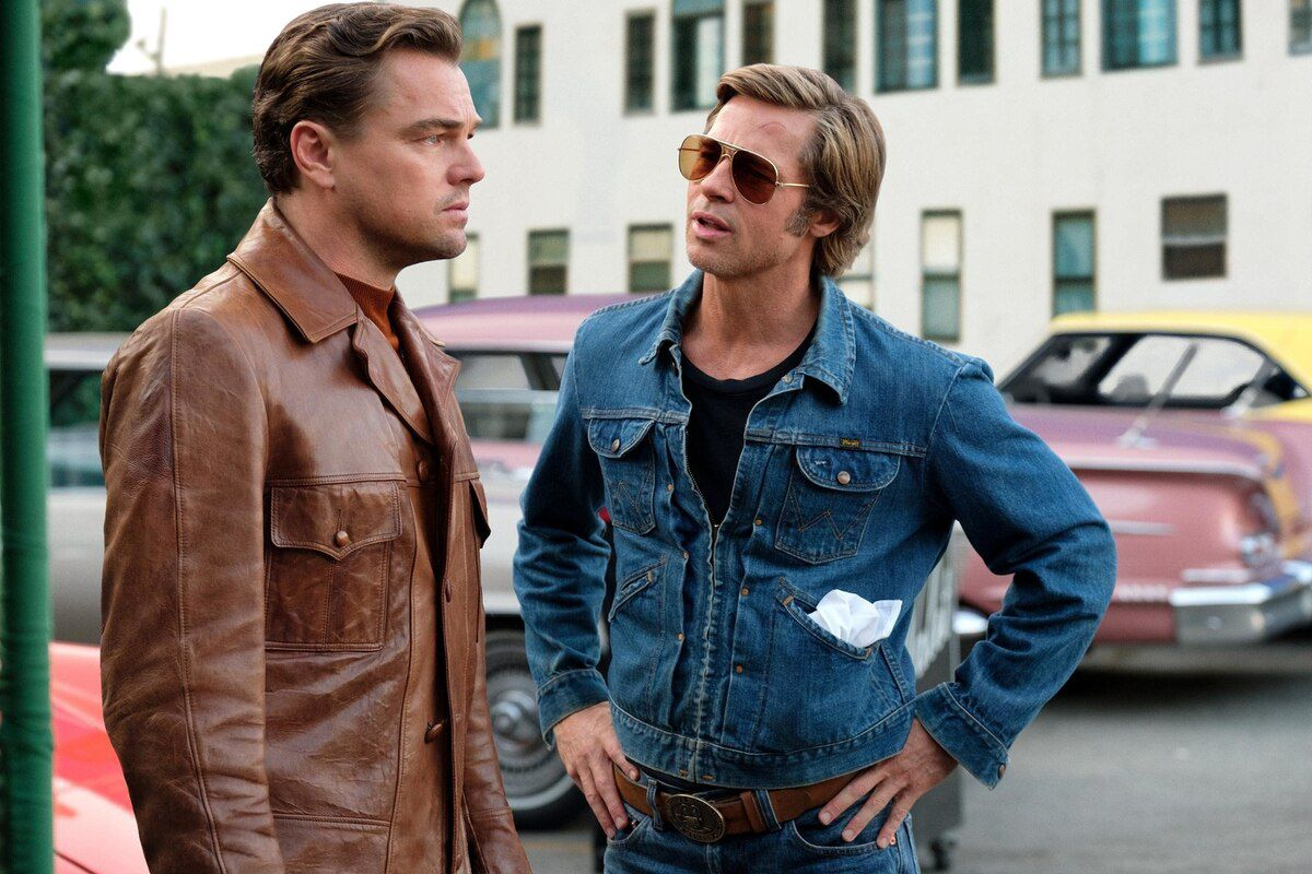 Once Upon a Time in Hollywood Review Rick (Leonardo DiCaprio) and Cliff (Bradd Pitt)