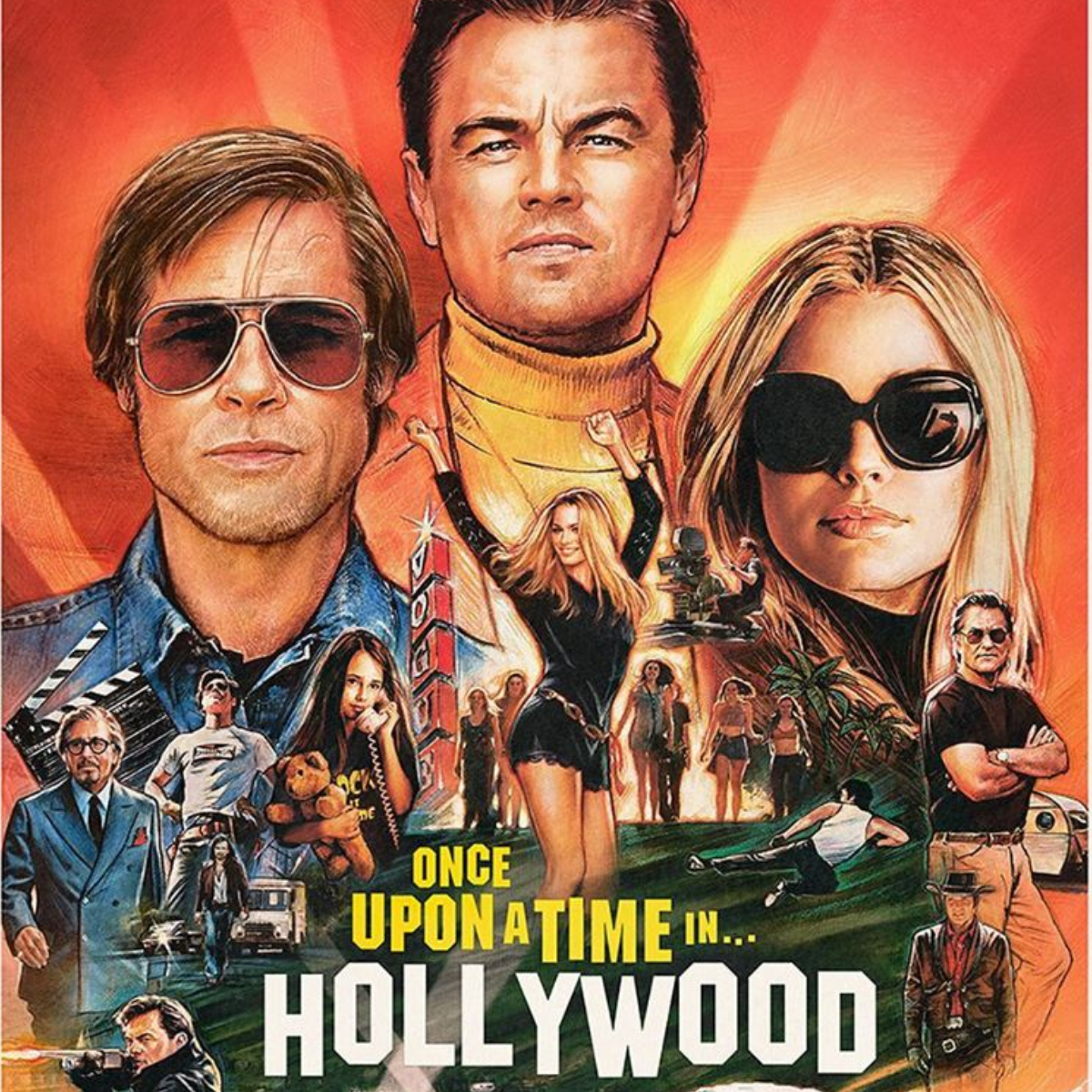 Once Upon a Time in Hollywood Review poster