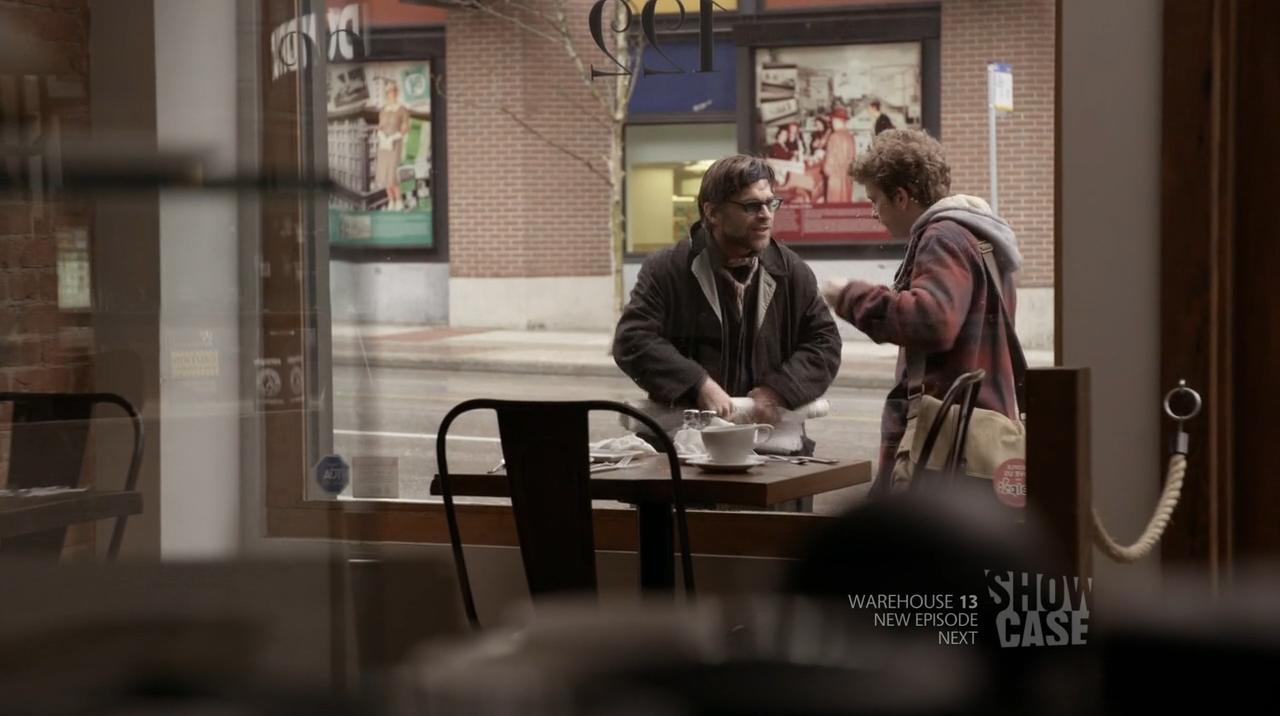 Alec Sadler (Erik Knudsen) and Jason - Continuum