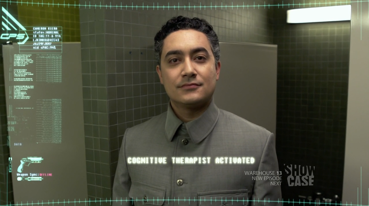 Alessandro Juliani as Cognitive Therapist in Continuum - Second Opinion