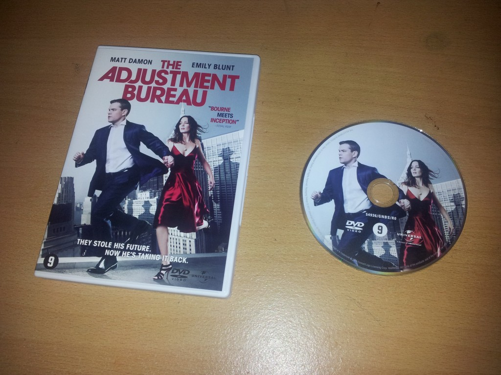 The Adjustment Bureau DVD set