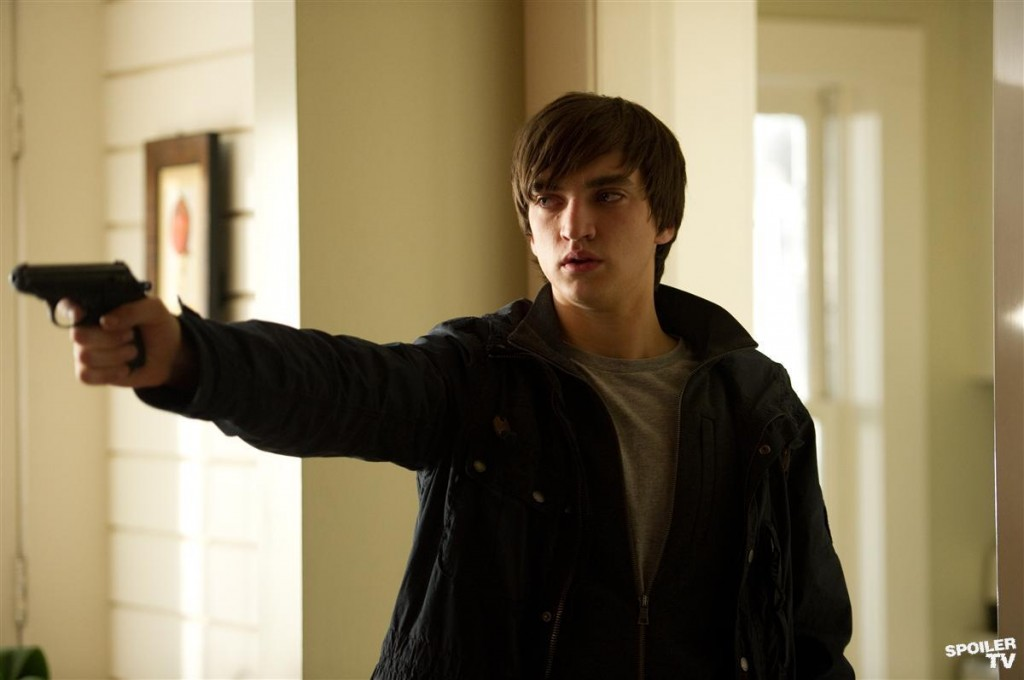 Richard Harmon as Julian Randol - Family Time - Continuum